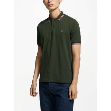Fred Perry Twin Tipped Polo Shirt at John Lewis
