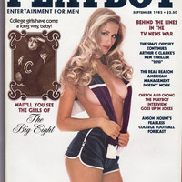 Playboy Vintage Adult Magazine September 1982 Sept