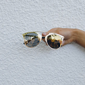 geri sunglasses - gold