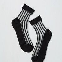 Sheer to Impossible Socks | Mod Retro Vintage Socks | ModCloth.com