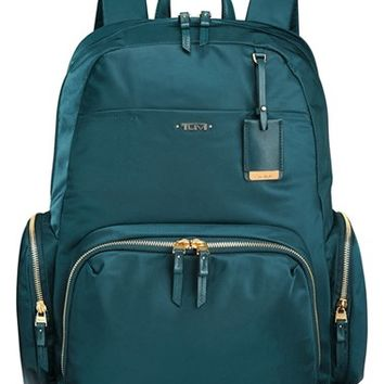 Tumi 'Voyageur - Calais' Nylon Computer Backpack - Blue/green