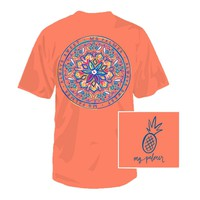 Change Your Scope Tee in Bright Coral by Southern Fried Cotton