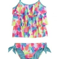 Tie Dye Tankini Swimsuit | Girls {category} {parent_category} | Shop Justice