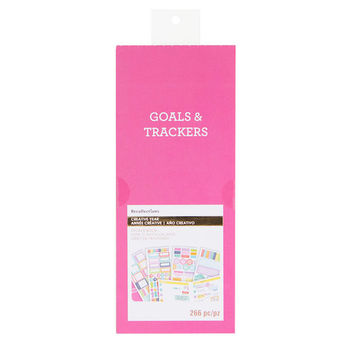 Creative Year Organize It Goals And Trackers Sticker Book By Recollections™