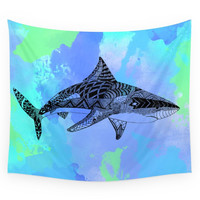 Society6 Shark Wall Tapestry