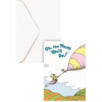 Oh, the Places You'll Go! Dr. Seuss Blank Card
