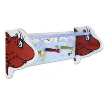 Dr. Seuss One Fish Two Fish Wall Shelf