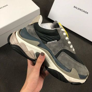 Balenciaga Triple-S Xia Gu jogging shoes-22