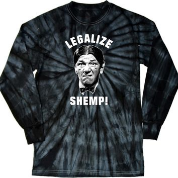 Buy Cool Shirts Three Stooges T-shirt Legalize Shemp Tie Dye Long Sleeve