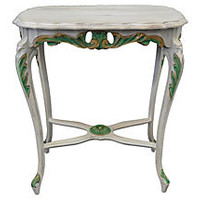French-Style Painted Table