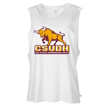 NCAA Cal State Dominguez Hills PPCSD03 Women's Muscle Tee Shirt