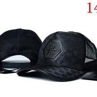 PHILIPP PLEIN embroidery Strap Cap Adjustable Golf Snapback Baseball Hat