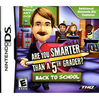 Are You Smarter than a 5th Grader? Back to School for Nintendo DS