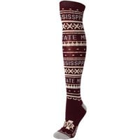 Women's Mississippi State Bulldogs adidas Knee-High Socks