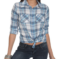 Plaid Boyfriend Shirt | Shop Tops at Wet Seal
