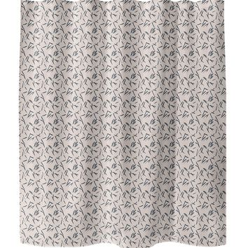 SCATTER Shower Curtain By Tiffany Wong