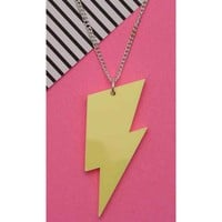 Pastel Lightning Bolt | NECKLACE