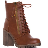 Edge Of Life Boots in Tan