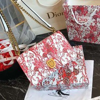 DIOR Small Diorama Hortensia bag