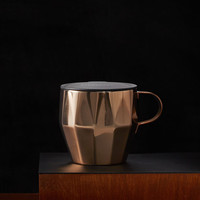 Stainless Steel Faceted Mug - Copper, 14 fl oz