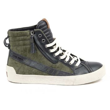 Multicolor 46 EUR - 12.5 US Diesel Mens High Sneaker Y01169 P0719 H5727