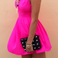 Hot Pinkness Dress