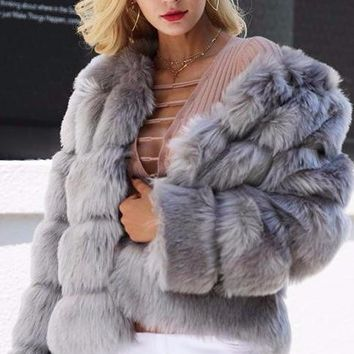 Ella Faux Fur Coat