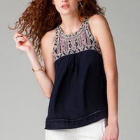 ANOKA EMBROIDERED TANK