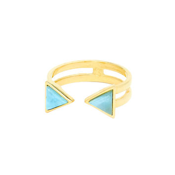 I liked this design on #Fab. Equis Double Ring