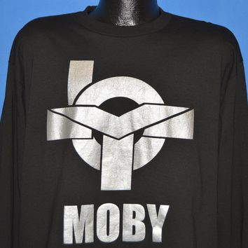 90s Moby Hymn Album 1994 Deadstock t-shirt Large