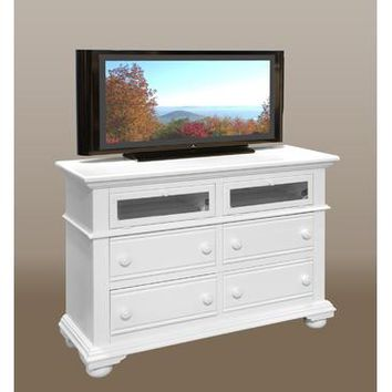 American Woodcrafters Cottage Traditions 6510 Entertainment Furniture