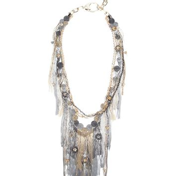 Versace Chain Fringed Necklace