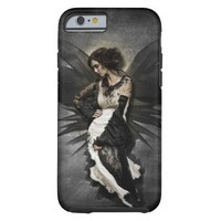 Personalized Iphone 6 Case/Gothic Angel Tough iPhone 6 Case