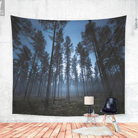 I still can hear you breathe Wall tapestry