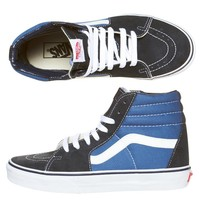 ORIGINAL CLASSIC SK8-HI SHOES BY VANS IN NAVY
