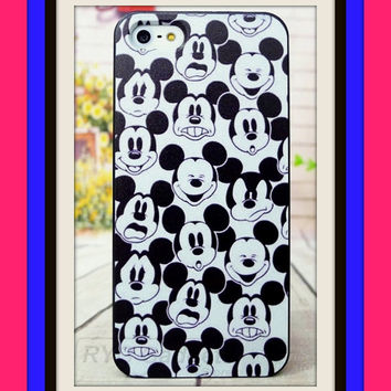 Mickey Mouse character SELFIE cell phone case for iPhone 5S 5s 5  Disney