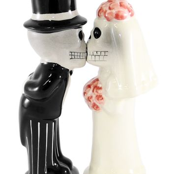 Love Never Dies Salt & Pepper Shakers