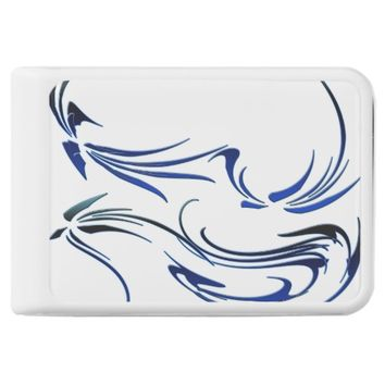 Swirl Blues Power Bank