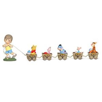 Disney Winnie the Pooh Birthday Train Collection by Precious Moments | Disney Store