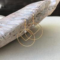 Hoop Earrings, Gold Hoop Earrings, Large Gold Hoop Earrings, Large Hoop Earrings, Large Gold Hoops, Gold Hoops,  Large Hoops, Hoops
