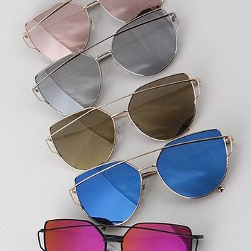 Tory Aviator Sunglasses