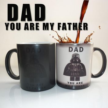 Star War (DAD,you are my father) cute color changing mug