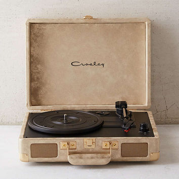 Crosley X UO Cruiser Metallic Briefcase Portable Vinyl Record Player - Urban Outfitters