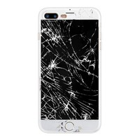 Broken Screen - Funny Soft TPU Case for iPhone 5 5S SE 6 6S 7 8 Plus X