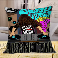Bassnectar Bass on Square Pillow Cover