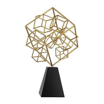 51-001 Cubic Abstract Sculpture - Free Shipping!
