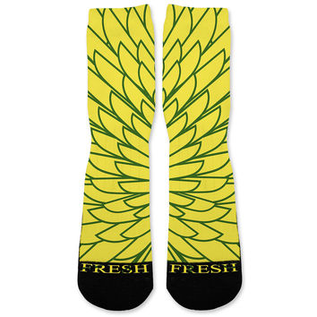 Wings 1 Custom Athletic Fresh Socks