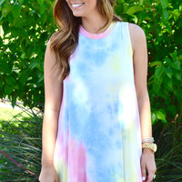 Candyland Tank Dress- Rainbow