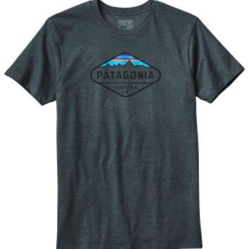 Patagonia Men's Fitz Roy Crest Slim T-Shirt | DICK'S Sporting Goods