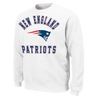 New England Patriots Football Club Fleece Sweatshirt - White